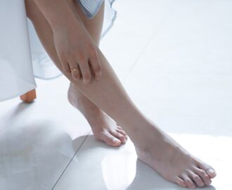 dbanie o stopy